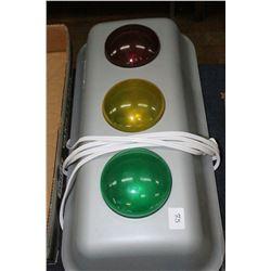 Electric Street Light (Push down on lights to make them work)