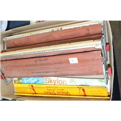 2 V-Master 'Adjustable Cigarette Makers' & 4 Pkgs of Long Papers (3 are Vogue Strips)