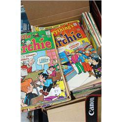Box of Modern Comic Books