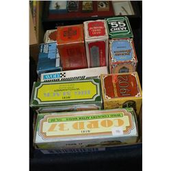 Flat of Boxed Avon Collectibles