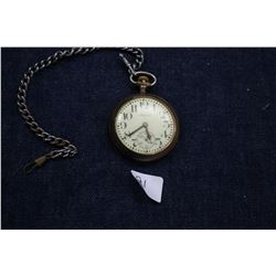 Admiral Pocket Watch (S/N 10995) - 114 years Old; Gold Filled Case (S/N 1410999); 15 Jewel; Made in