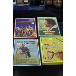 Charlie Pride; All Star Country; Bing Crosby & Easy Listening Country 8 Track Sets