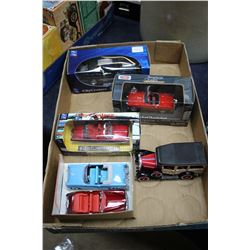 Flat w/Die Cast Collector Cars - 2 City Cruiser Collection (Shelby GT 350 & '64 Chrysler Turbine); '