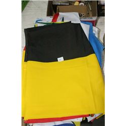 Flat of Fabric Flags (Manitoba, Sask., N.B., Nfld, Yukon, B.C. Que., Canada, U.S.A., Belgium & Unite