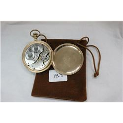 Waltham Watch Company Pocket Watch - S/N 172022 (Waltham 1850 - 1957); Gold Filled Fortune Case; Mad