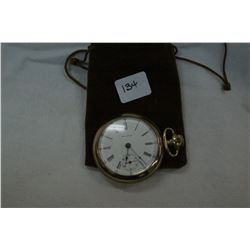 American Waltham Watch Company Pocket Watch; 15 Jewels; S/N 2672; Gold Filled Empress Case; Made in