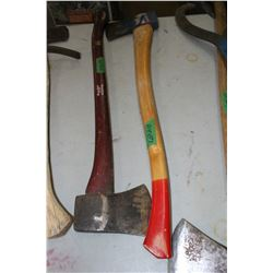 2 1/4 lb. Hults Bruk Axe (Made in Sweden) and a 2 lb. Axe
