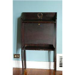 Small Drop Front Desk (Antique)