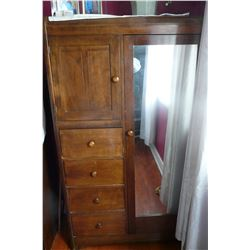 Combination Wardrobe/Chest of Drawers