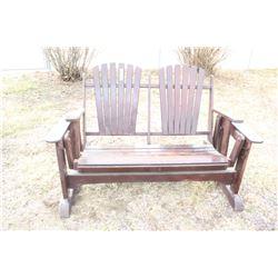 Lawn Furniture - Rocking Love Seat