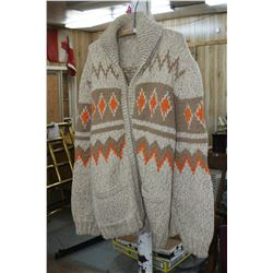 Men's Knitted Sweater - Large