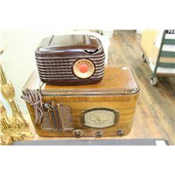 Vintage GE Radio & Westinghouse Radio (broken on the front & back)
