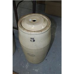 Medalta #5 Butter Churn with Lid (No Plunger)