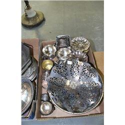 Flat of Assorted Silverware