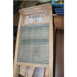 Small Pearl Washboard
