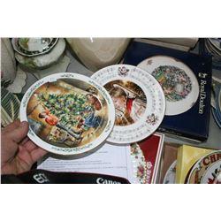 4 Royal Doulton Collector Plates