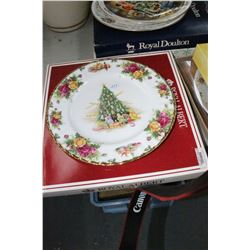 2 Royal Albert Collector Plates
