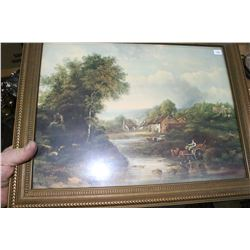 Framed Print of English Countryside