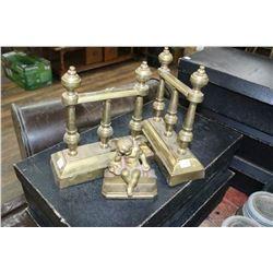 3 pcs. of Brass