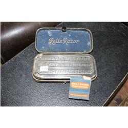 Rolls Razor (in a Case) & Rolls Razor Strop Dressing