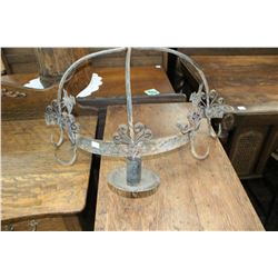 2 Metal Hanging Units (Candle Holders)