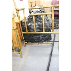 """Brass Tubular Bed Frame (Head & Foot) w/Rails - for 48"""" Bed"""