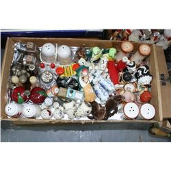 Box with Salt & Pepper Shakers (Approx. 20 prs.)