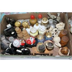 Box of Salt & Pepper Shakers (20+ prs.)