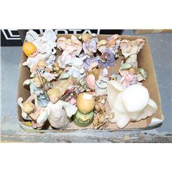 Box of Angel Ornaments
