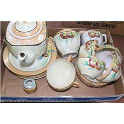 Flat w/Luncheon Tea Set for 6