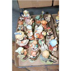 Box of Figurines (Girls)