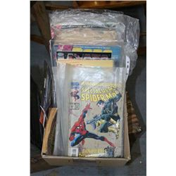 Box of Assorted Comic Books - Spiderman, X-Men, Green Goblin, etc.