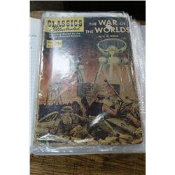 Binder of Collectible Comic Books - Classics Illustrated, D.C., Marvel & Walt Disney
