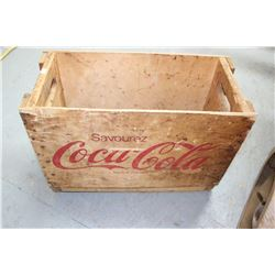 Coca Cola Wooden Shell - For Tall Bottles