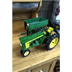 John Deere 720 Tractor (Die Cast) & a John Deere Grain Wagon (Die Cast)