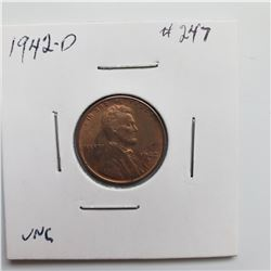 1942-D Lincoln Cent