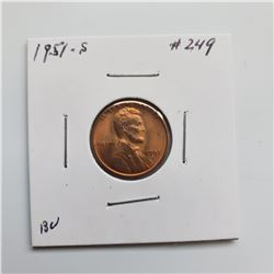 1951-S Lincoln Cent