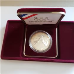 1988-S Olympic Silver Dollar  (Com)