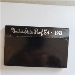 1973 Proof Set With Box