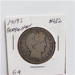 1909-S Barber Half