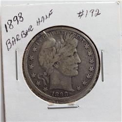 1898 Barber Half