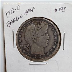 1912-D Barber Half