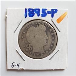 1895-P Barber Quarter