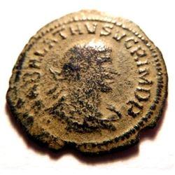 Two Headed Coin: Aurelian and Vabalathus