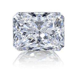 9ct Radiant Cut BIANCO Diamond