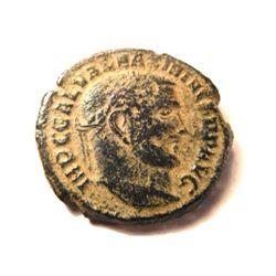 Bronze Coin Of Maximinus II: 305-313 A.D.
