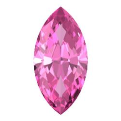 Natural Pink Tourmaline Marquise Faceted Gemstone