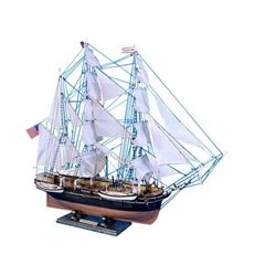 """Wooden Charles W. Morgan Limited Model Whaling Boat 32"""""""