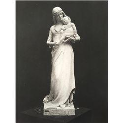 19thc Photogravure Print, Clotilde De Surville