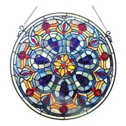 "Victorian Glass Window Panel 20"""